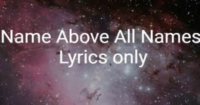 Jesus, Name above all names - lyrics only