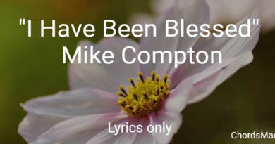 I have been blessed - Mike Compton - The Simpsons - Lyrics Only